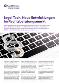 Fact Sheet Cover - Legal Tech